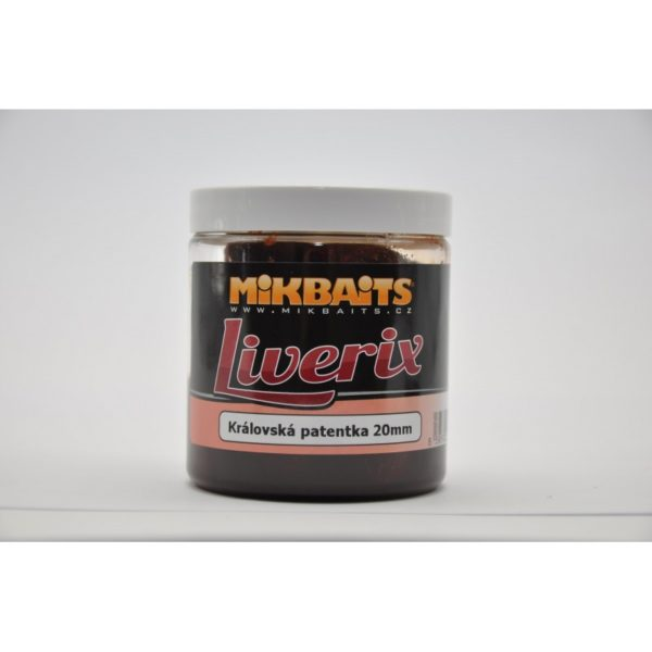 Boilies v dipe Mikbaits Liverix- Rybarske potreby