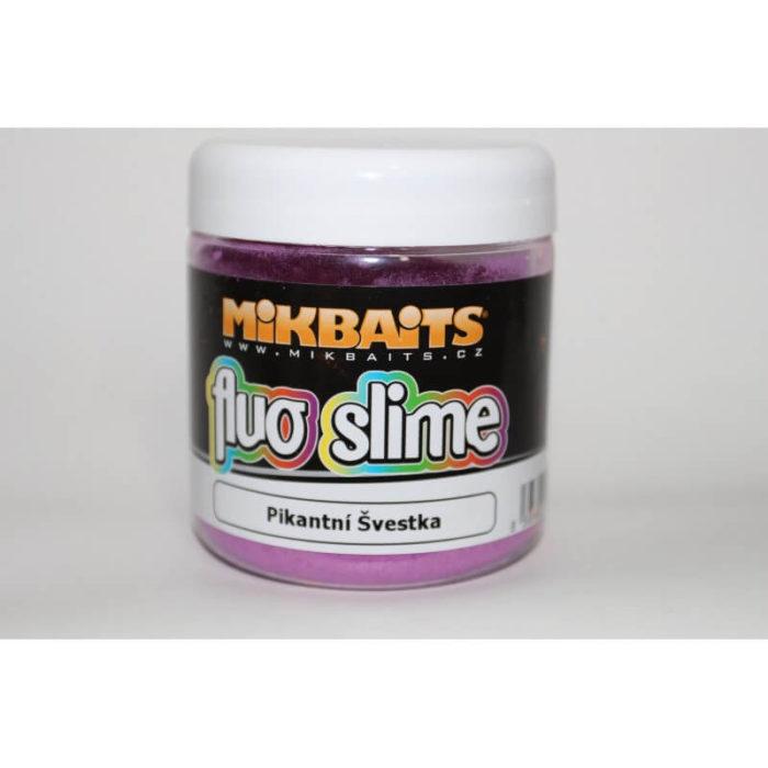 Práškový Fluo dip Mikbaits Fluo Slime - Rybárske potreby LM Rybárstvo