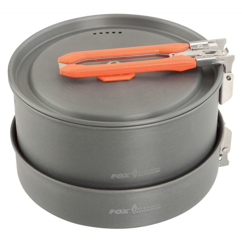 Trojdielna sada riadu FOX Cookware Medium - Rybárske potreby LM Rybárstvo
