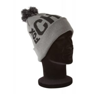 Zimná čiapka FOX Chunk Bobble Hat Black/Grey