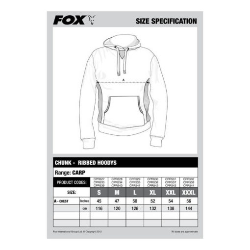 p 2 5 5 8 2558 thickbox default Mikina FOX Chunk Ribbed Hoody Khaki