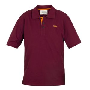 Polokošela FOX Chunk Polo Shirt Burgundy/Orange