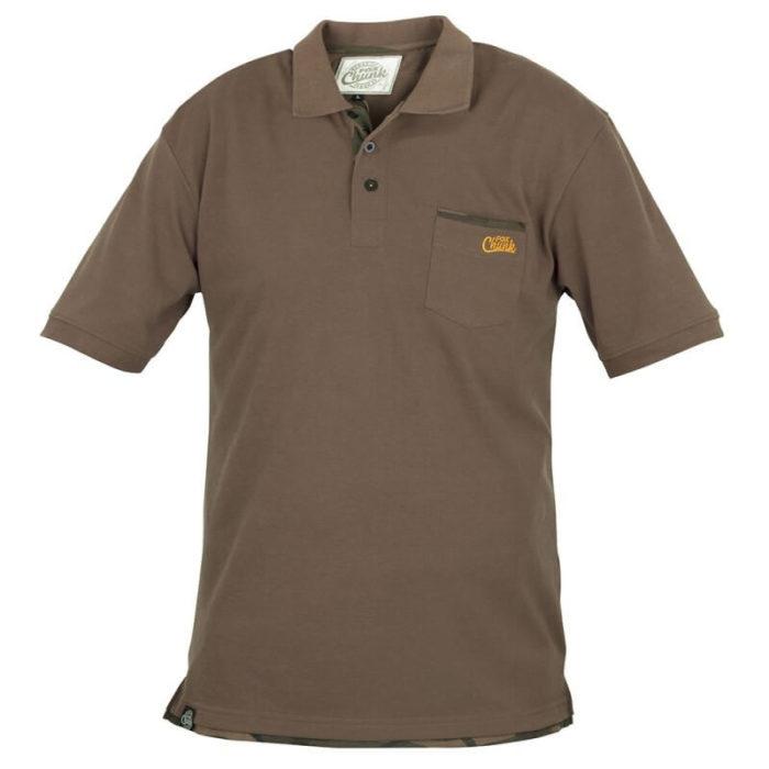Polokošela FOX Chunk Polo Shirt Khaki - Rybárske potreby LM Rybárstvo