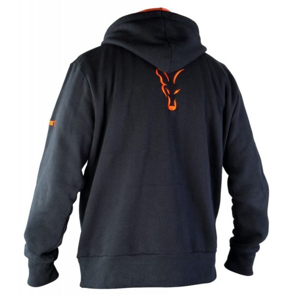 Mikina FOX Black/Orange Hoody