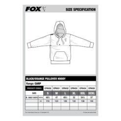p 2 6 1 2 2612 thickbox default Mikina FOX BlackOrange Hoody