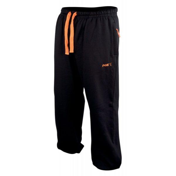 Tepláky FOX Black/Orange Lightweight Joggers