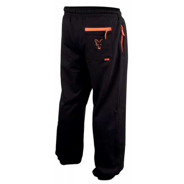 Tepláky FOX Black/Orange Lightweight Joggers
