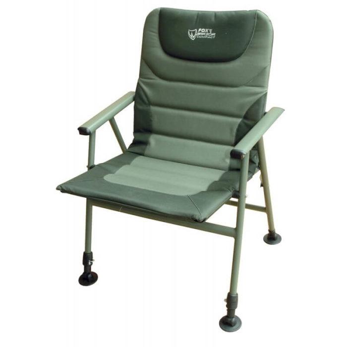 Kreslo FOX Warrior Compact Arm Chair - Rybárske potreby LM Rybárstvo