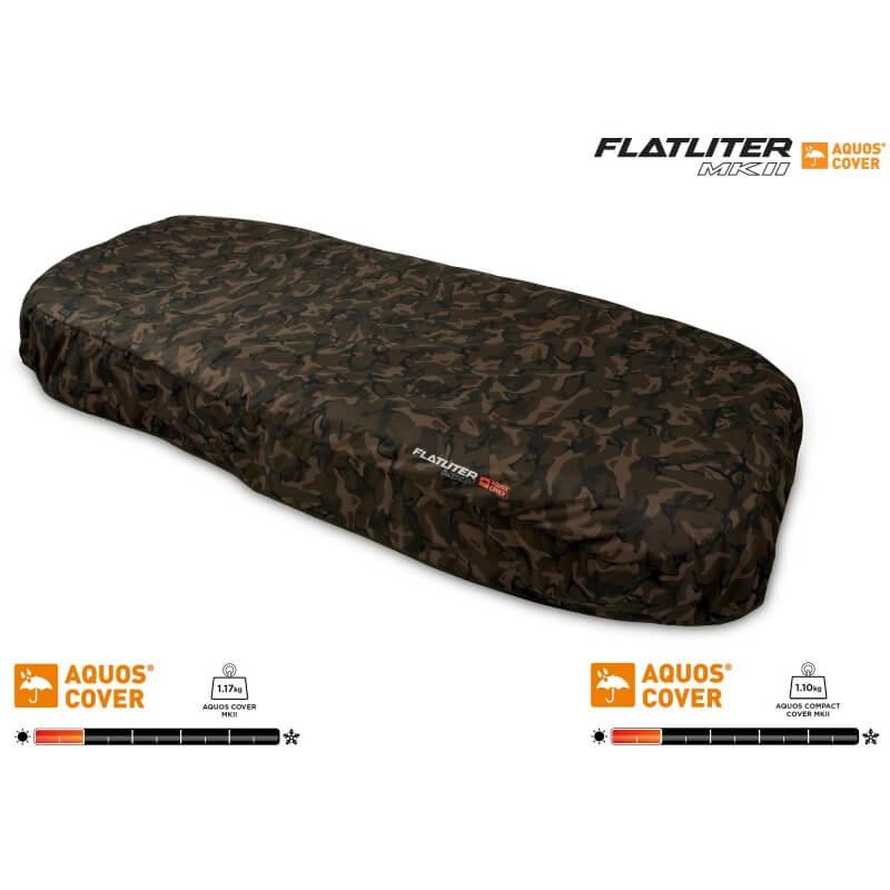 Prehoz na lehátko FOX Flatliter MKII Aquos Camo Cover - Rybárske potreby LM Rybárstvo