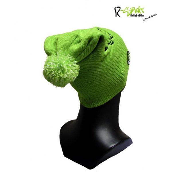 Detská zimná čiapka R-Spekt Junior Pompom Duo Beanie Style – Rybarske potreby