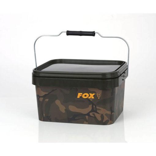 p 2 9 7 5 2975 thickbox default Plastovy kybel FOX Camo Square Carp Bucket