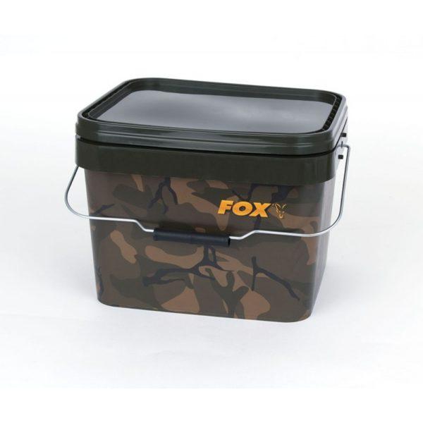 Plastový kýbel FOX Camo Square Carp Bucket