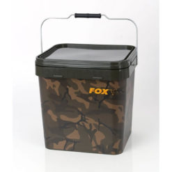 p 2 9 7 9 2979 thickbox default Plastovy kybel FOX Camo Square Carp Bucket