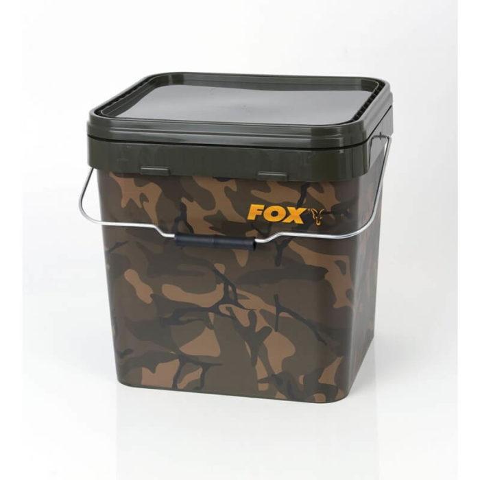 Plastový kýbel FOX Camo Square Carp Bucket - Rybárske potreby LM Rybárstvo