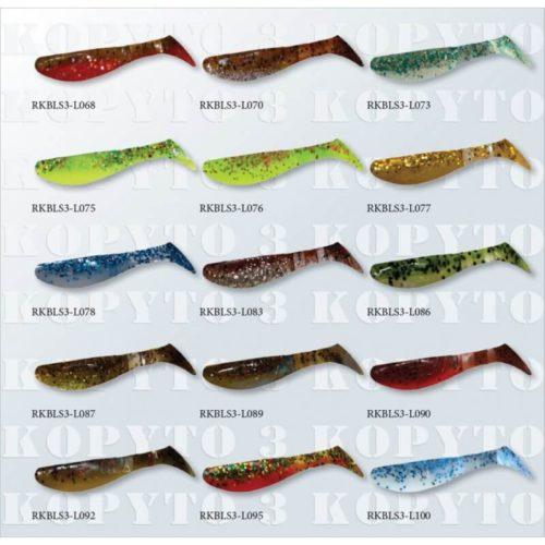 Gumová nástraha Relax Kopyto RK3 Laminated L068-L100 - Rybárske potreby LM Rybárstvo
