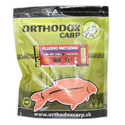 Method Mix Orthodox Carp Fluoro Metoďák Red Hot Chilli - Rybárske potreby LM Rybárstvo