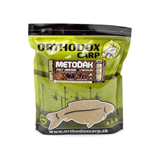 Method Mix Orthodox Carp Metoďák Spicy Seafood - Rybárske potreby LM Rybárstvo