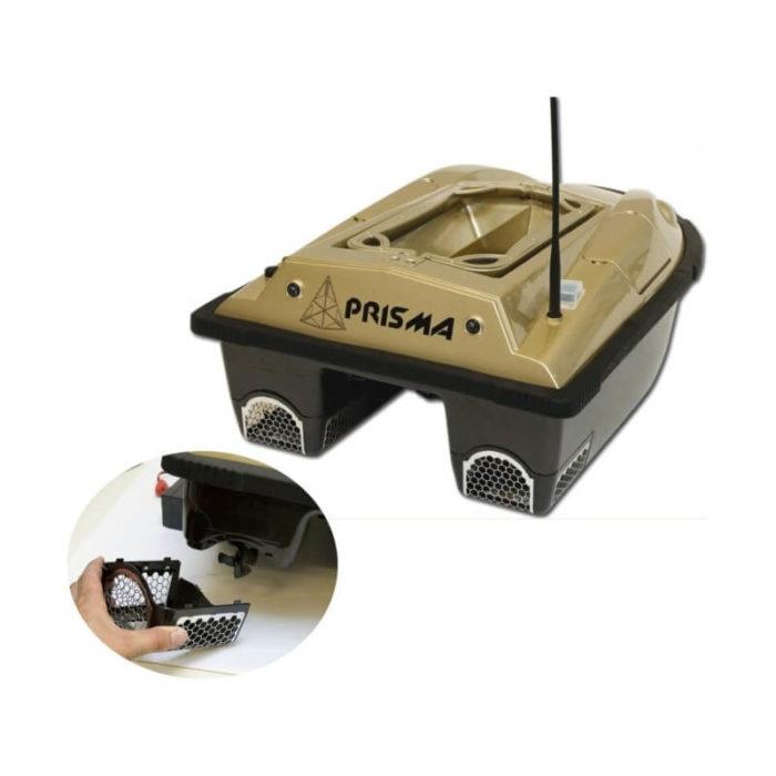 Zavážacia loďka so sonarom a GPS Prisma
