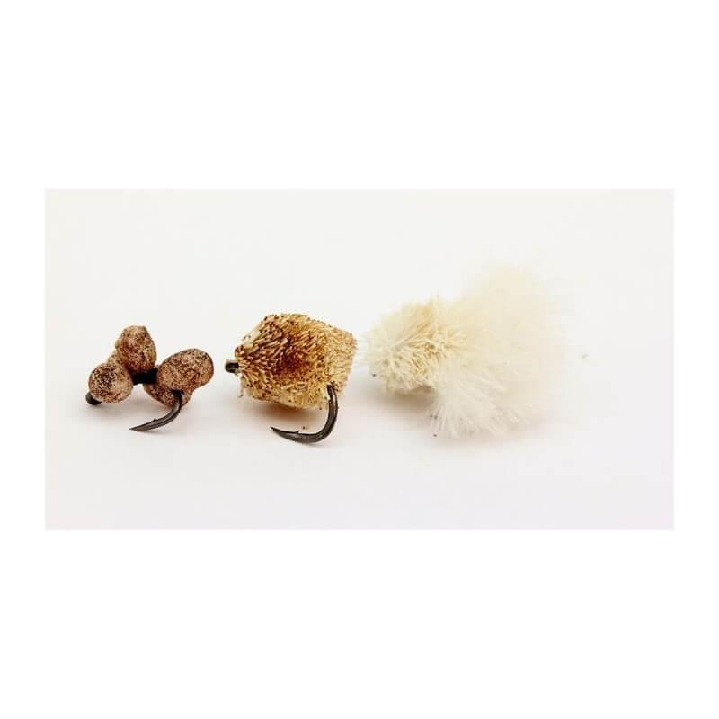 NASH Zig Bugs Naturals Barbless /bez protihrotu/ 3ks