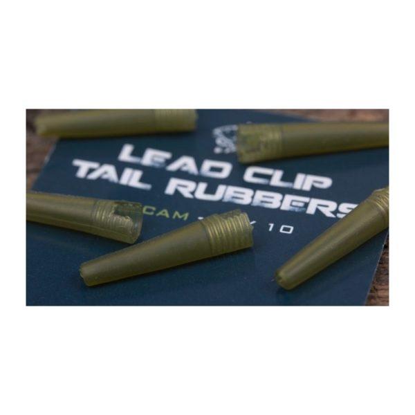 Záveska na olovo NASH Weed Lead Clip Diffusion Camo 10ks
