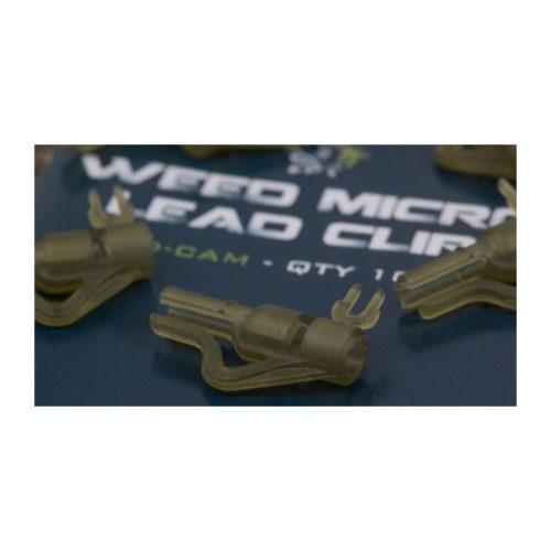 Záveska na olovo NASH Micro Lead Clip Diffusion Camo 10ks - Rybárske potreby LM Rybárstvo