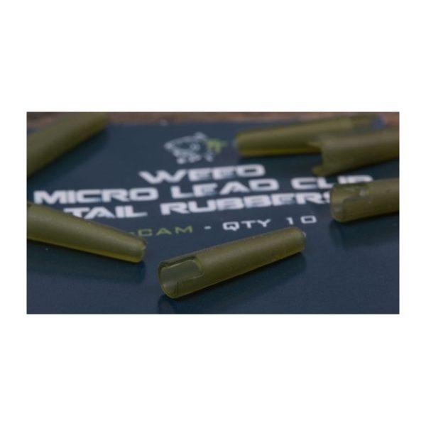 Prevlek na závesku NASH Micro Lead Clip Tail Rubbers 10ks