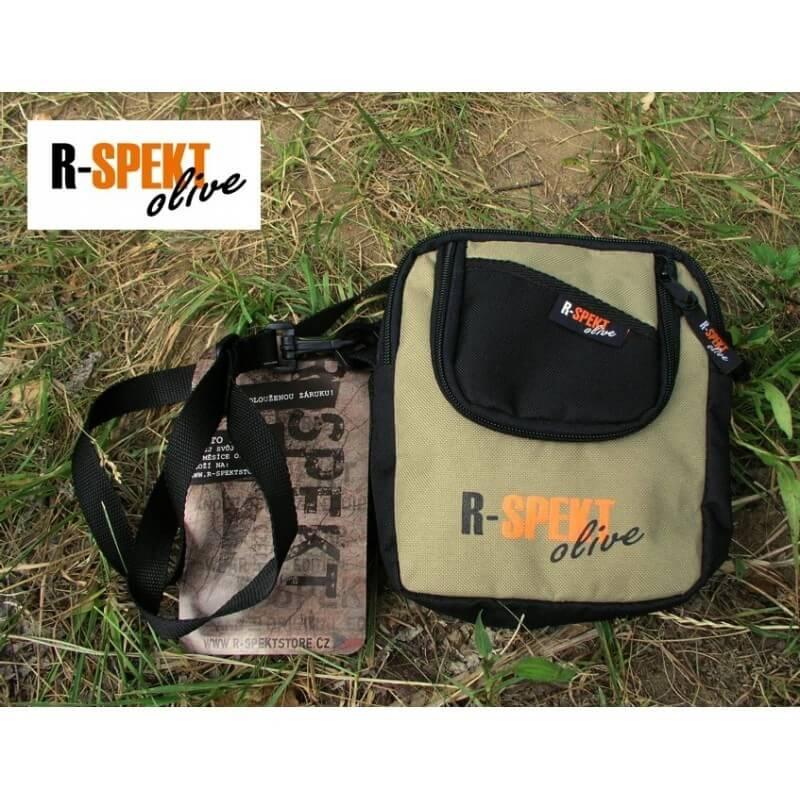 Taška na doklady R-Spekt (olive čierna) - Rybárske potreby LM Rybárstvo