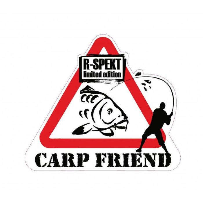 Samolepka R-Spekt CARP FRIEND - Rybárske potreby LM Rybárstvo