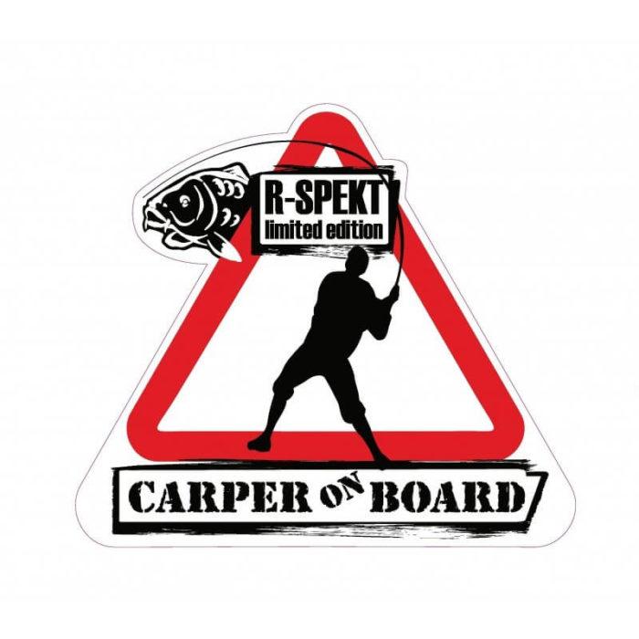 Samolepka R-Spekt CARP RIDE - Rybárske potreby LM Rybárstvo