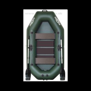 Čln Kolibri K-240 Zelený / Lamelová podlaha