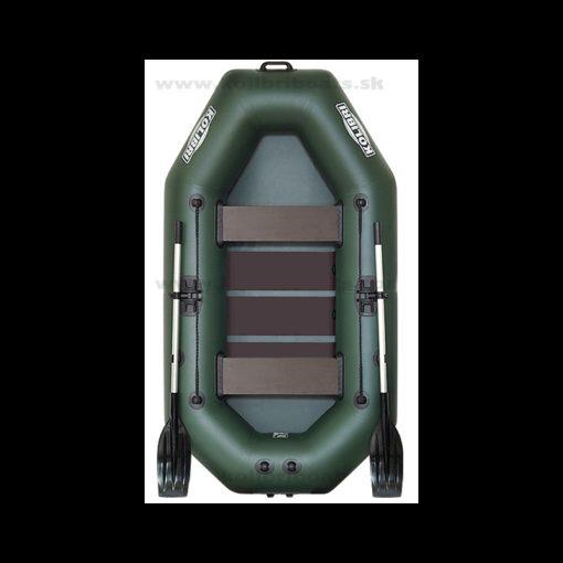 Čln Kolibri K-240 Zelený Lamelová podlaha - Rybárske potreby LM Rybárstvo
