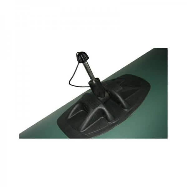 Čln Kolibri K-220 Zelený-Lamelová podlaha- Rybarske potreby