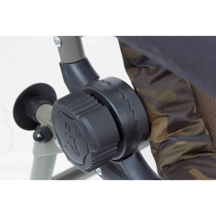 Kreslo FOX R1 Camo Recliner Chair - Rybárske potreby LM Rybárstvo
