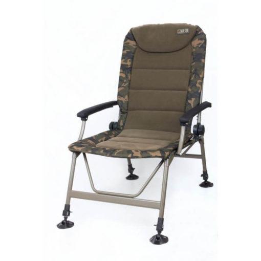 Kreslo FOX R2 Camo Recliner Chair - Rybárske potreby LM Rybárstvo