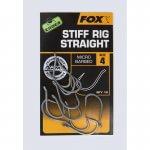 Háčik FOX Edges Stiff Rig Straight – Rybarske potreby