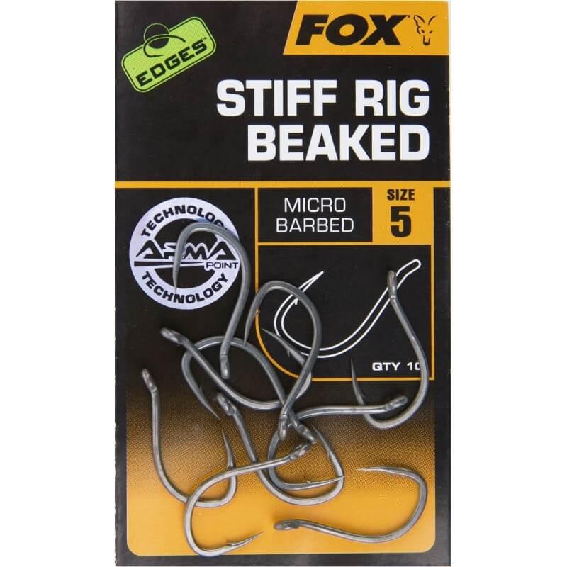 Háčik FOX Edges Stiff Rig Beaked - Rybarske potreby