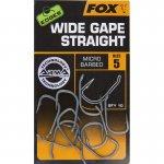 Háčik FOX Edges Wide Gape Straight – Rybarske potreby