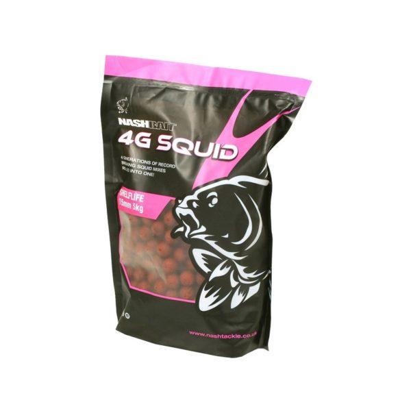 Boilies Nash 4G Squid- Rybarske potreby