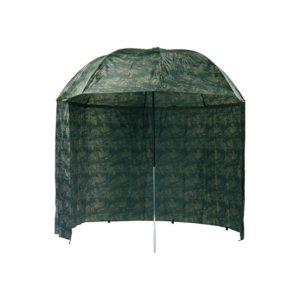Dáždnik s bočnicou Mivardi Camou PVC - Rybarske potreby