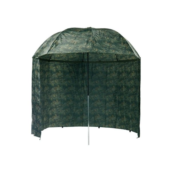Dáždnik s bočnicou Mivardi Camou PVC – Rybarske potreby