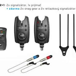 signalizator delphin roler 9v plus 2+1 - Rybárske potreby LM Rybárstvo