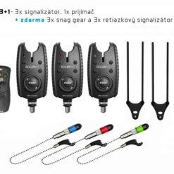 signalizator delphin roler 9v plus 3+1 - Rybárske potreby LM Rybárstvo