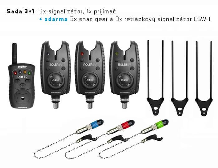 signalizator delphin roler 9v plus 3+1