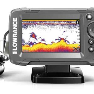 sonar lowrance hook2 4x row