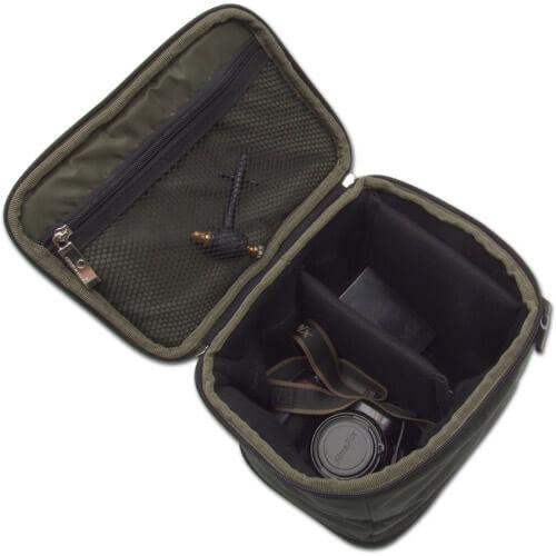 taška gardner Camera_Bag_Open - Rybárske potreby LM Rybárstvo