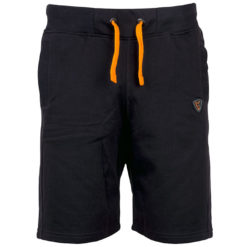 black orange shorts