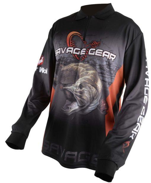 savage gear triko tournament jersey pike zander perch