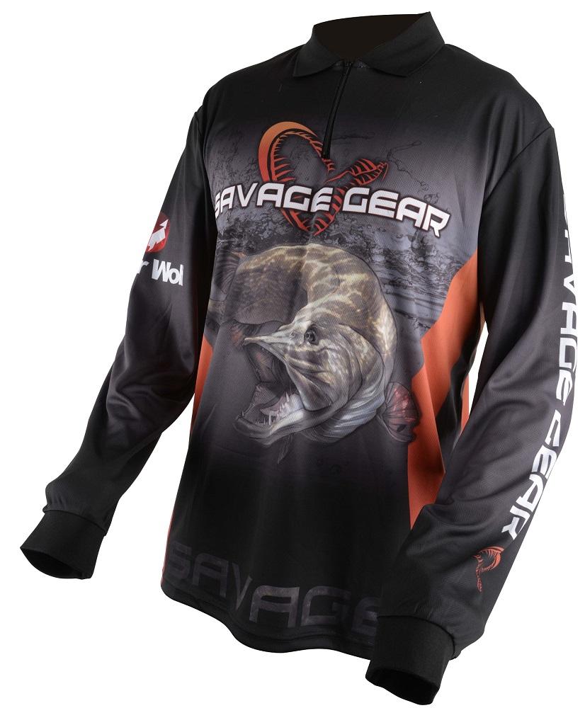 193fb0765e9f Savage Gear Tričko Tournament Jersey Pike Zander Perch