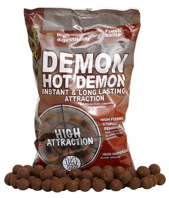 Boilies STARBAITS Hot Demon