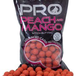 Boilies STARBAITS Probiotic Peach & Mango 1kg 14mm